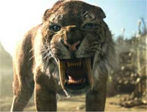 Sabertooth tiger or French test?