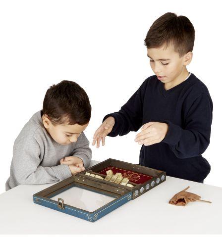 kids playing shut the box